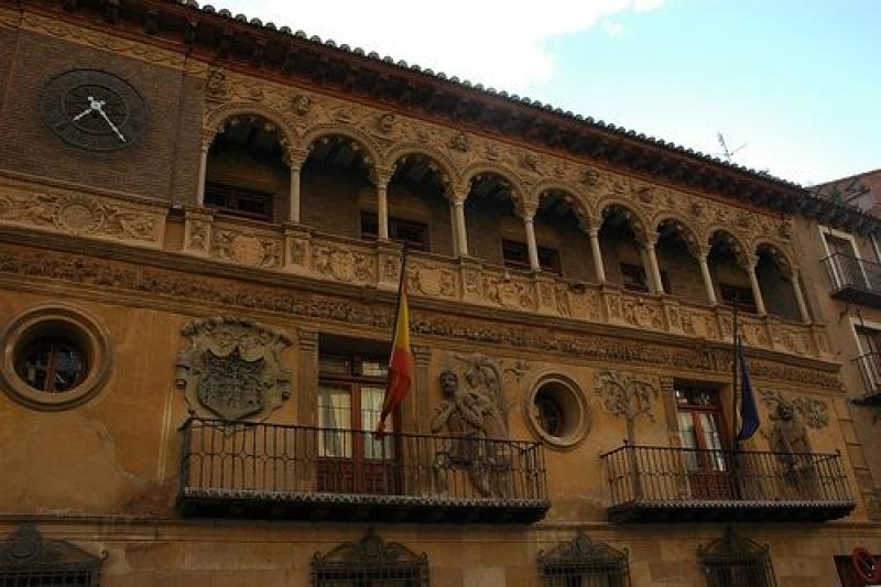 Palacio y jardín de Eguarás Tarazona